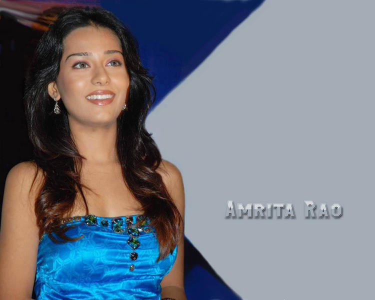 Amrita Rao Gorgeous Smile Wallpaper
