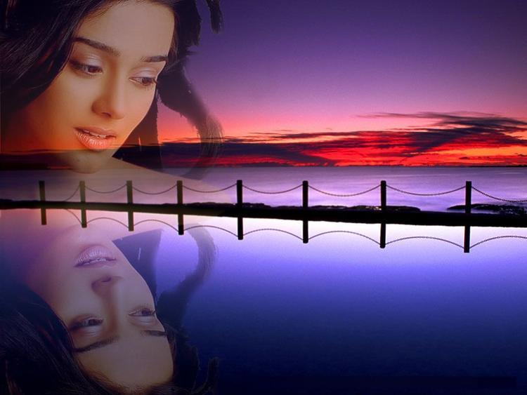 Amrita Rao Romantic Look Photo