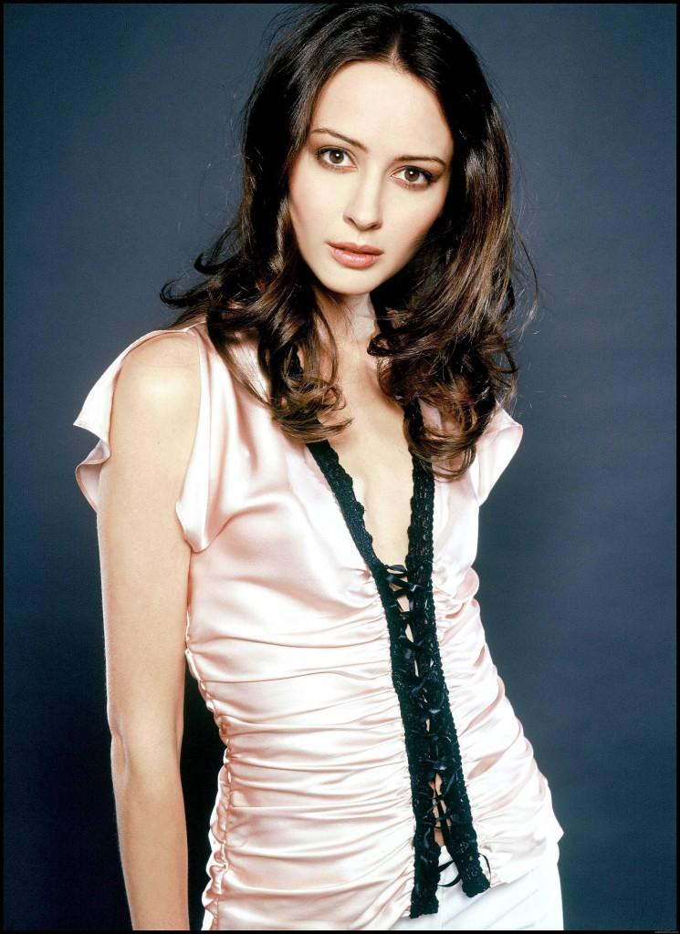 Amy Acker Pink Dress Cute Picture