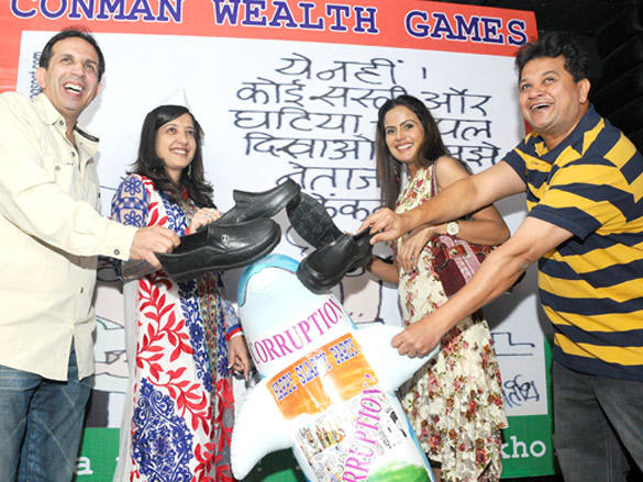 Amy Billimoria,Nandini at Viren Shah's Happy Slappy party