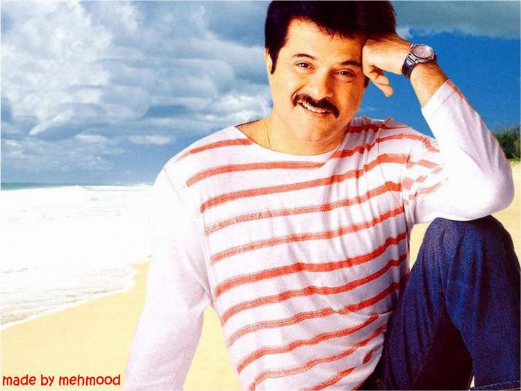 Anil Kapoor Sexy Smile Face Wallpaper