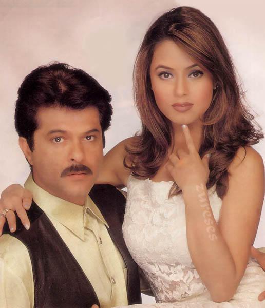 Anil Kapoor and Mahima Beauty Face Wallpaper