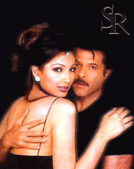 Anil Kapoor and Yukta Glamour Wallpaper
