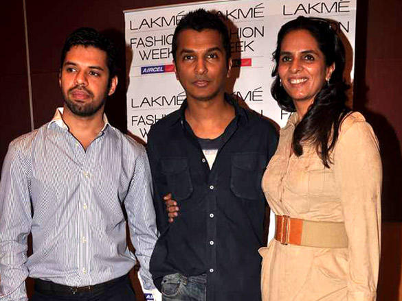 Anita Dongre,Vikram Phadnis at Lakme Fashion Week