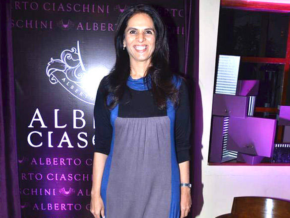 Anita Dongre looked trim and propah in clear-cut and sleek outfit