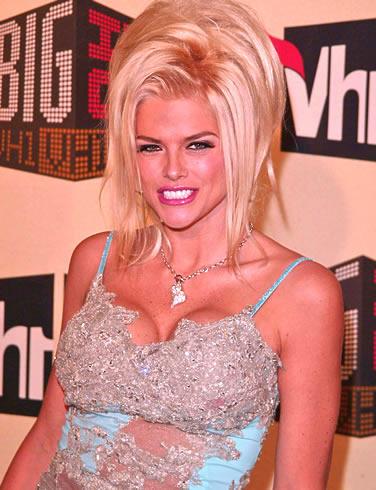 Anna Nicole Smith Nice Hair Style Glamour Still