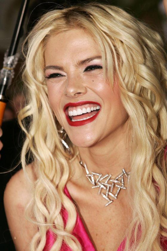 Anna Nicole Smith Open SMile Pic