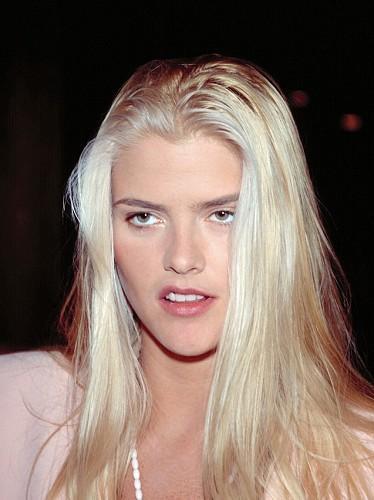 Anna Nicole Smith White Long Hair Cute Face Still