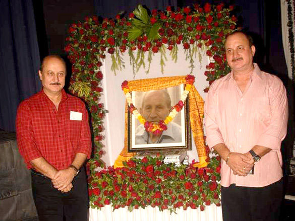 Anupam and Raju Kher are not mourning the death of their father