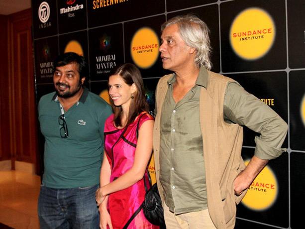Anurag Kashyap,Kalki at Mumbai Mantra Sundance Institute Screenwriters Lab
