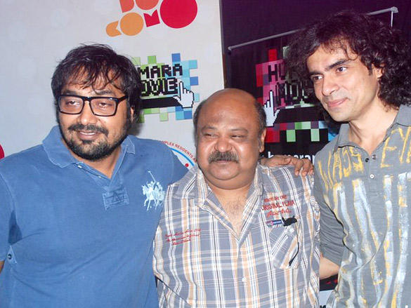Anurag Kashyap and Imtiaz Ali during Wassup  Andheri Festival