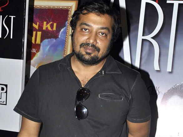 Anurag Kashyap at a special screening of The Artist