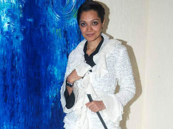 Anusha Srinivasan at Amisha Mehta's art preview
