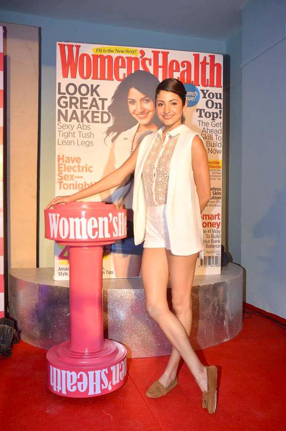 Anushka Sharma's outfit at Women's Health inaugural issue