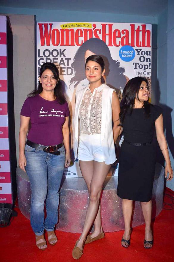 Anushka Sharma At Women's Health Inaugural Issue Launch