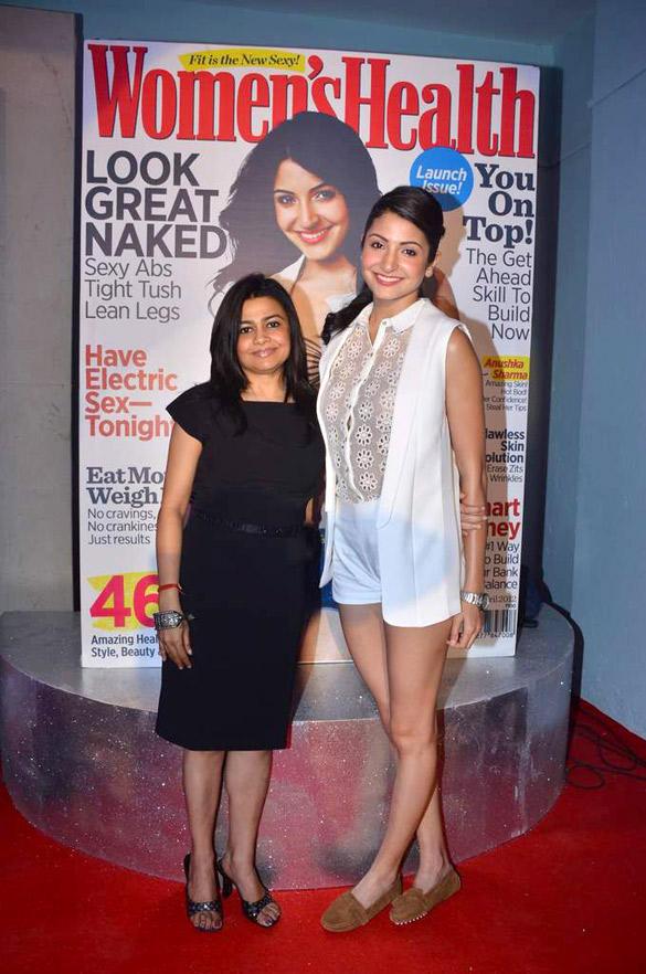 Anushka Sharma at Women's Health Magazine Unveiling
