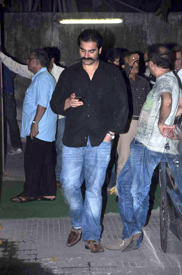 Arbaaz Khan at Housefull 2 Screening