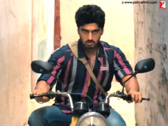 Arjun Kapoor Hot Look With Bike
