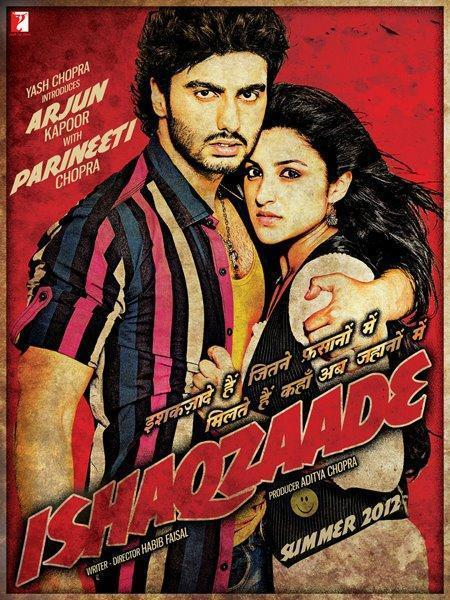 Arjun Kapoor and Parineeti Chopra In The Poster Of Ishaqzaade