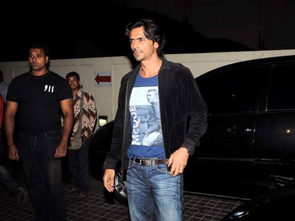 Arjun Rampal at Agneepath special screening
