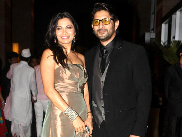 Arshad Warsi,Maria Goretti at Riteish and Genelia's reception