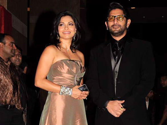Arshad Warsi,Maria Gorettiat at Riteish and Genelia's wedding reception