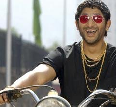Arshad Warsi Bike Still With Open Smile