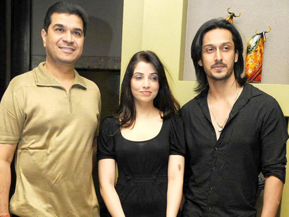 Ashish Sharma,Priyanka Mehta at Music Launch of Movie Zindagi Tere Naam