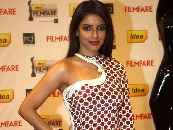 Asin Thottumkal at 57th Idea Filmfare Awards