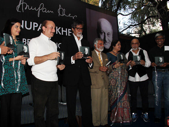 At launch of Anupam Kher book - The Best Thing About You is... You