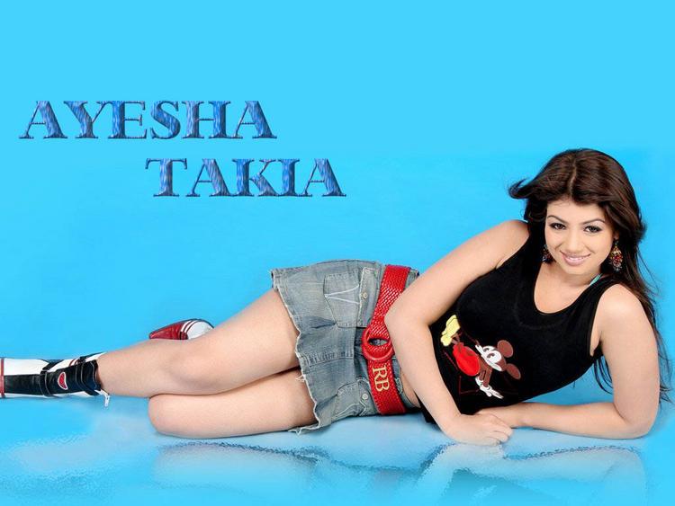 Ayesha Takia Hot and Sexy Wallpapers