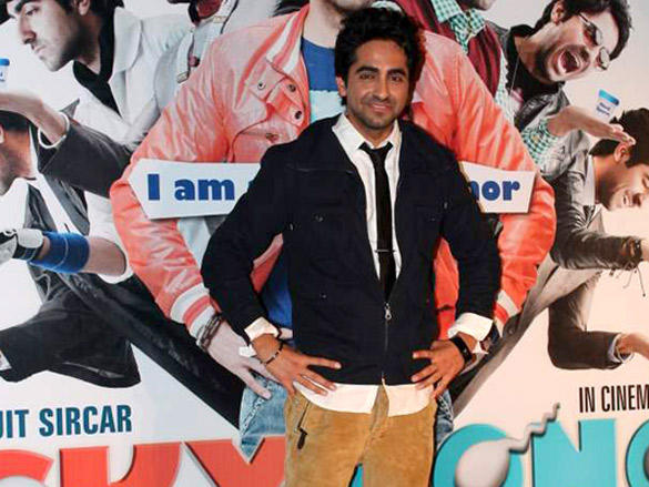 Ayushman Khurana Handsome Look at First Look Launch of Vicky Donor