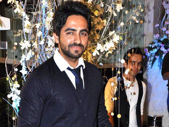 Ayushman at Hrithik hosted birthday party for sister Sunaina