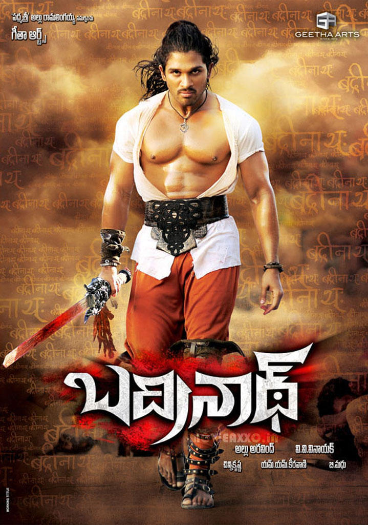 Badrinath Movie Poster Allu Arjun Still