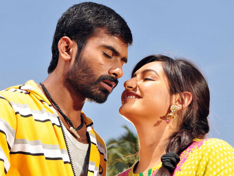 Bangari Movie Kannada movie Ragini and Yogesh romance still