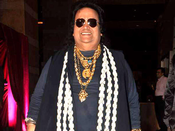Bappi Lahiri at Riteish and Genelia's reception
