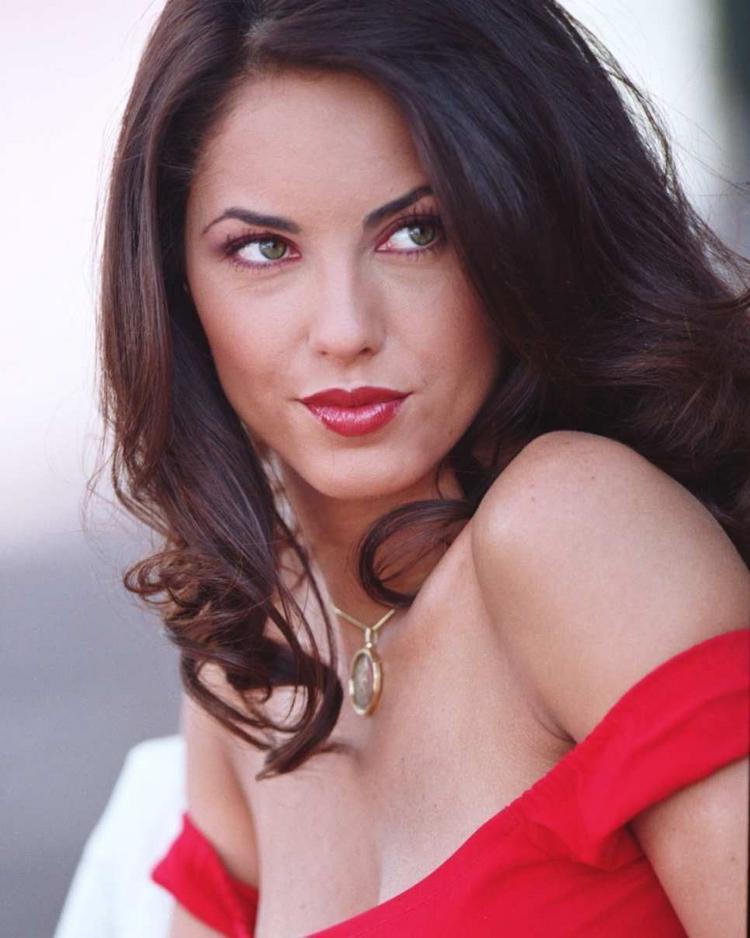 Barbara Mori Red Wet lips Pic