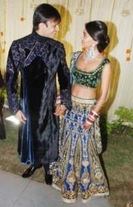 Beautiful Couple Vivek Oberoi and Priyanka Pic