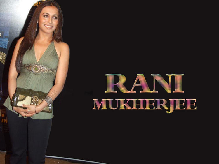 Beautiful Rani Mukherjee Latest Wallpaper
