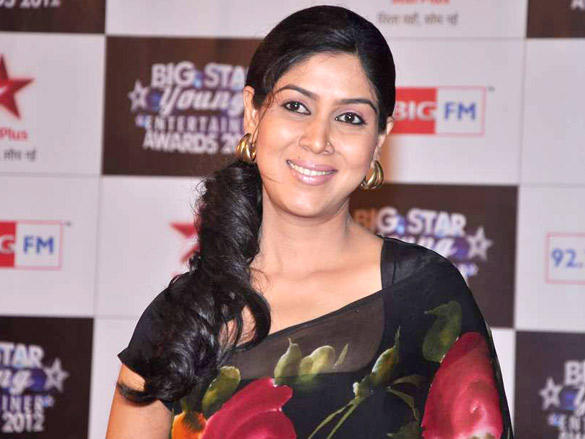 Beautiful Sakshi Tanwar at Big Star Young Entertainer Awards 2012