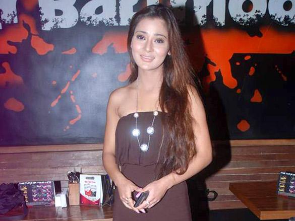 Beautiful Sara Khan At Pre Holi Event Party Stills