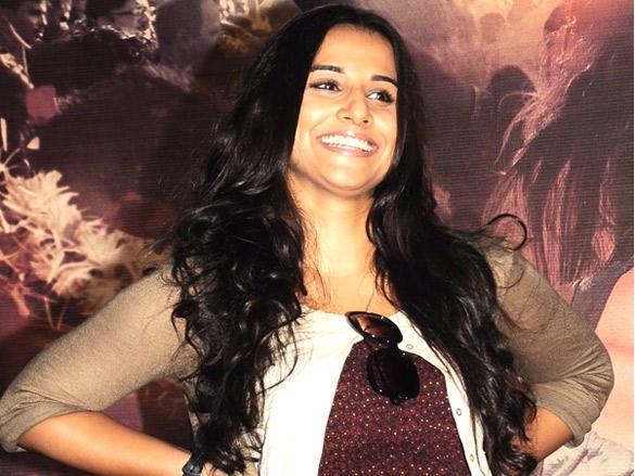 Beautiful Vidya unveils her upcoming movie