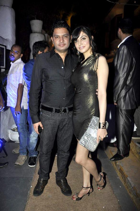 Bhushan Kumar,Divya Khosla at UTV Stars Walk Of The Stars After Party Event