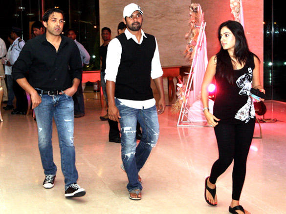 Bobby Deol at Cricket League  party in Vizag