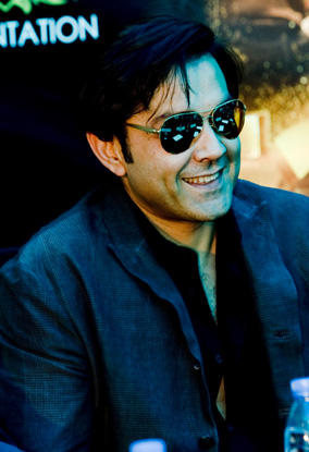 Bobby Deol in Dubai to promote his movie