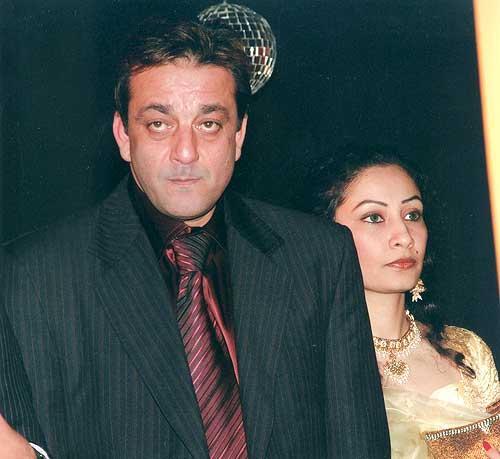 Bollywood Couple Sanjay and Manyata Glam Pic