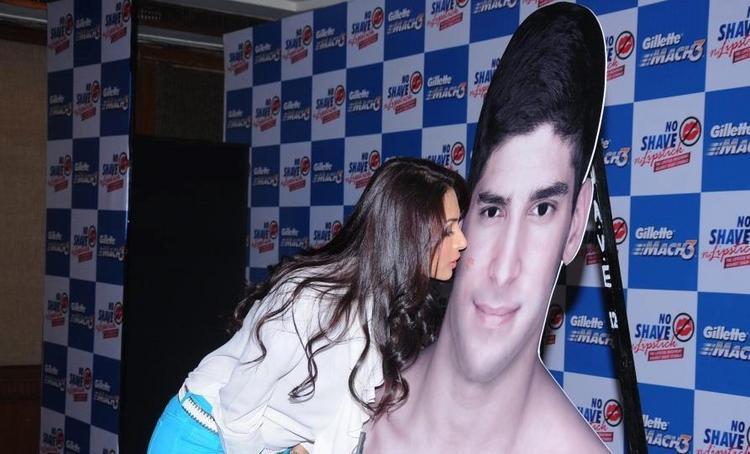 Bollywood Diva Malaika Arora Khan at the No Shave No Lipstick Launch