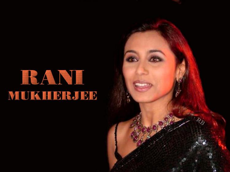 Bollywood Diva Rani Mukherjee Wallpaper