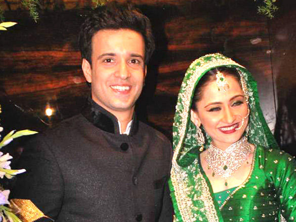 Bride and groom Aamir Ali and Sanjeeda images