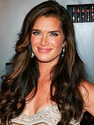 Brooke Shields Sleeveless Dress Glamour Still